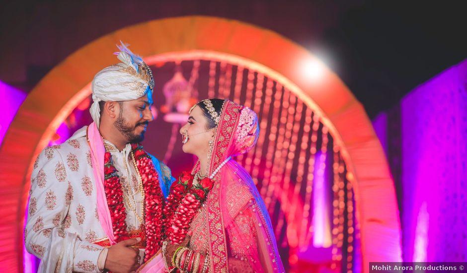 Nidhi and Deepesh's wedding in Gurgaon, Delhi NCR