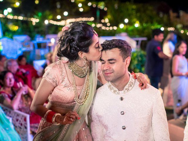 The wedding of Kanika and Mandeep