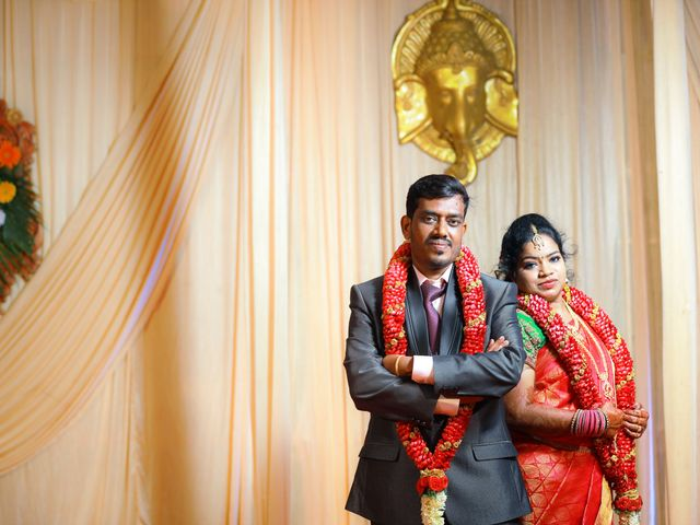 The wedding of Sandhya and Sundar