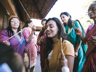 The wedding of Anoli and Arjun 1