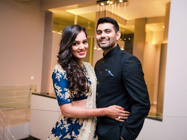 The wedding of Anoli and Arjun