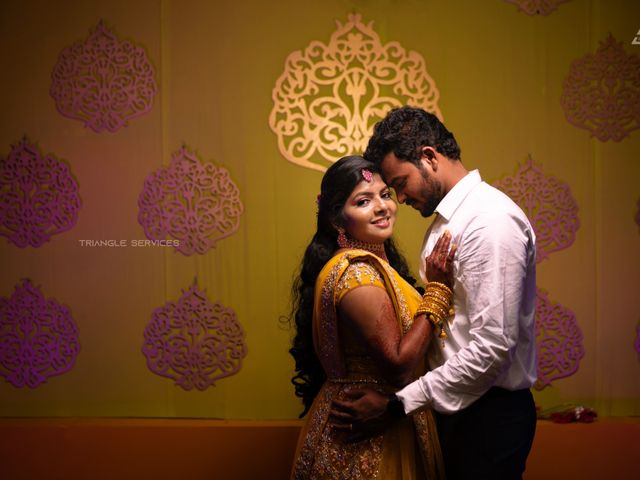 The wedding of Monisha and Mahendran