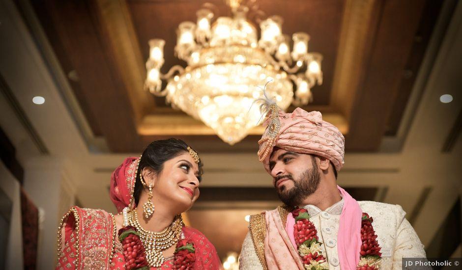 Srishti and Deepak's wedding in Faridabad, Delhi NCR