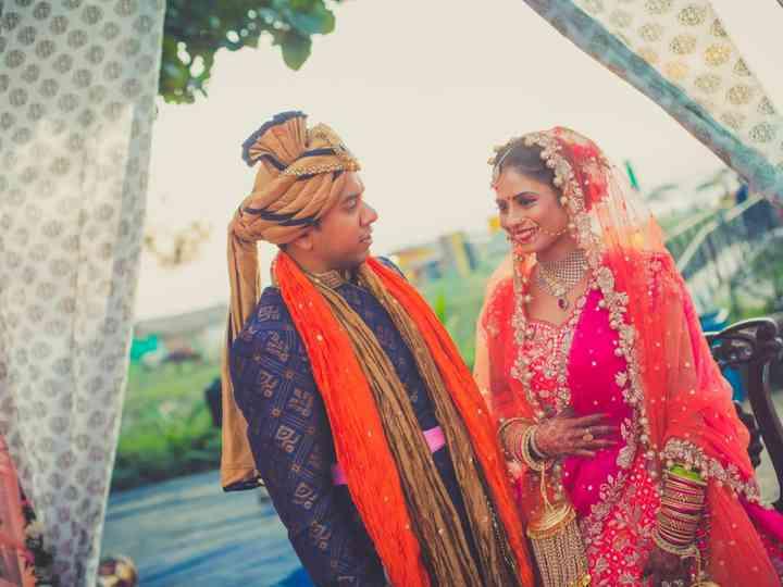The wedding of Bhumika and Ayush