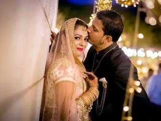 The wedding of Safiya and Abbas