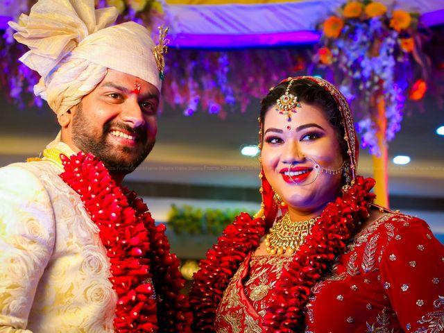 The wedding of Priyanka and Sourav