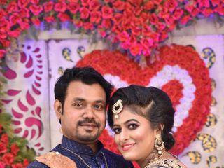 The wedding of Aditi and Avijit