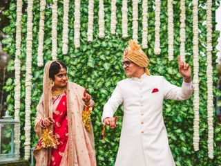 The wedding of Ashmita and Saket