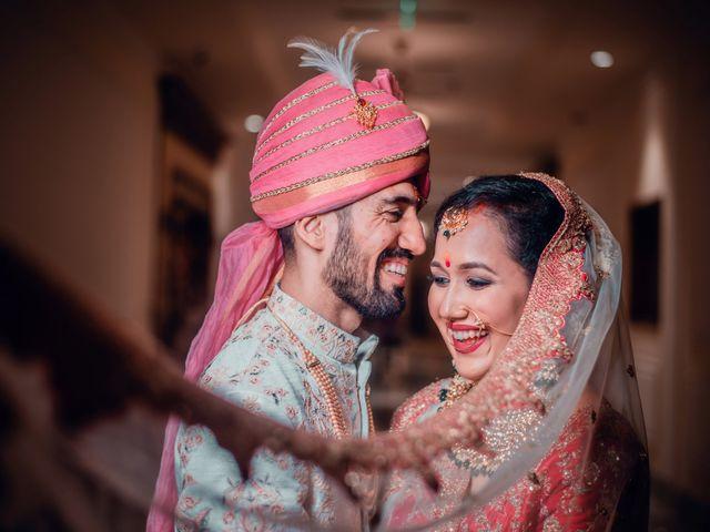 The wedding of Surbhi and Lakshya