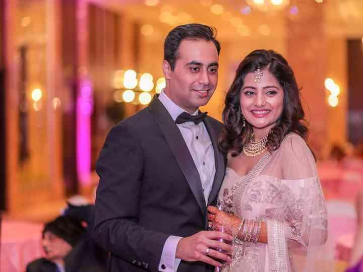 The wedding of Ishita and Sidharth