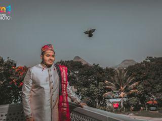 The wedding of Pallavi and Pranil 1