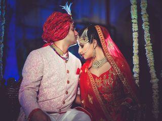 The wedding of Shruti and Abhishek