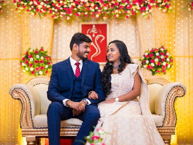 The wedding of Aswatha and Balagopalan