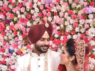 The wedding of Isha and Inderjeet