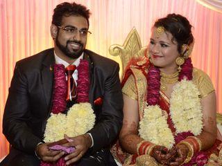 The wedding of Tanya and Samuel