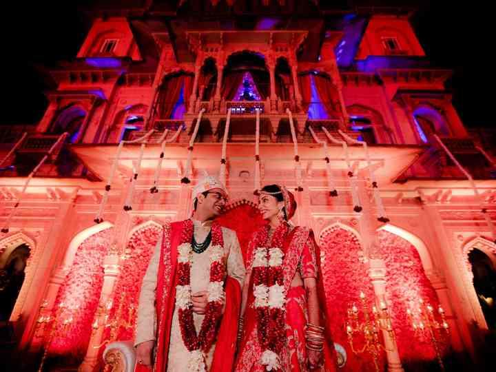 The wedding of Anisha and Ankit