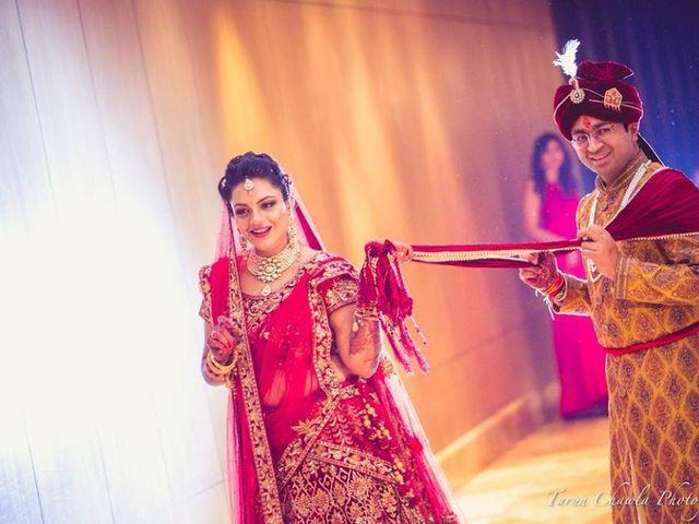 The wedding of Akriti and Atul