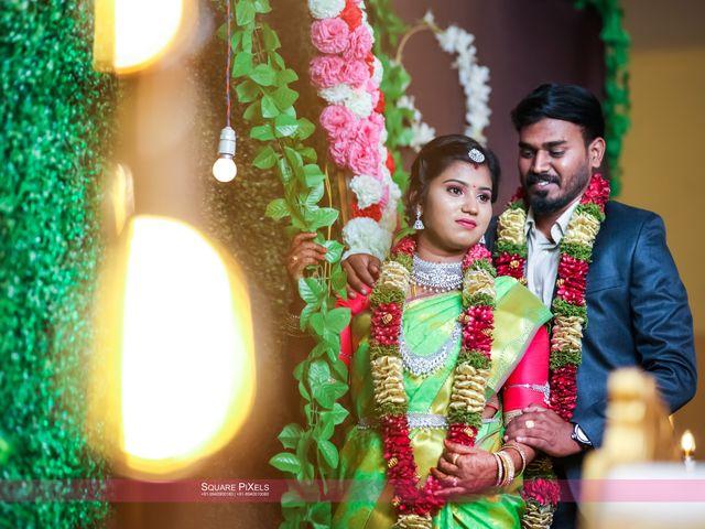 The wedding of Nandhini and Karthik