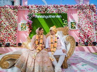 The wedding of Shrishti and Vishal