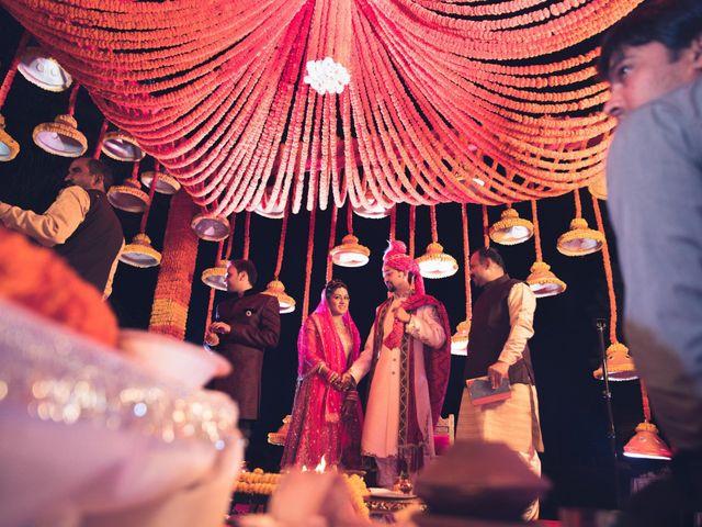 The wedding of Prachi and Rishabh