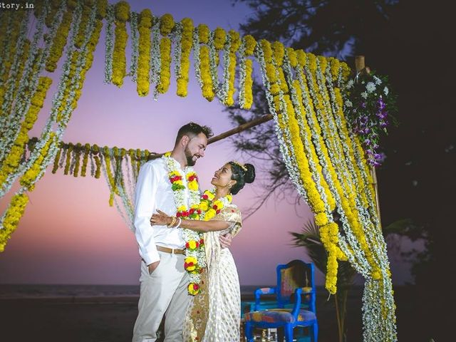 The wedding of Anjalika and Andrew