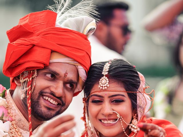 The wedding of Meghna and Ruchit