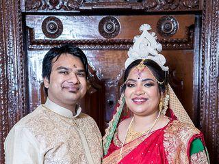 The wedding of Uttra and Abhishek