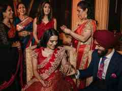 The wedding of Ankieta and Zorawar 6