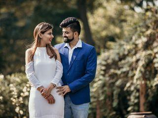 The wedding of Ritu and Kush 2