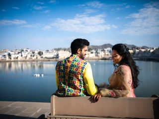 The wedding of Gopica and Abhinav 1