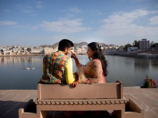 The wedding of Gopica and Abhinav 2