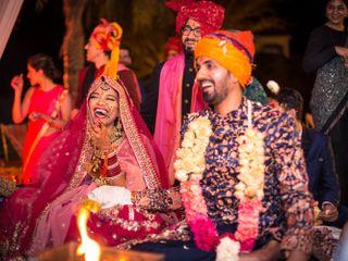 The wedding of Gopica and Abhinav