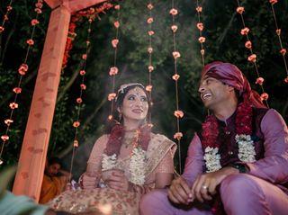 The wedding of Sarah and Shubham