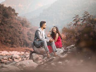 The wedding of Yukti and Aditya 1