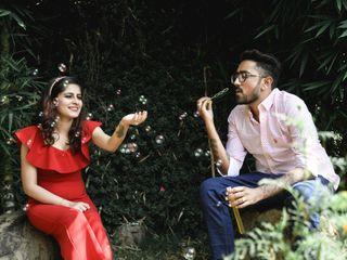 The wedding of Yukti and Aditya 2