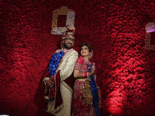 The wedding of Yukti and Aditya