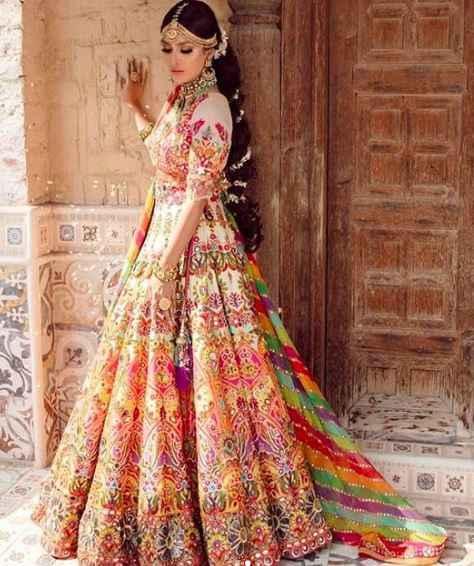 Multi Colour Lehenga Inspo!! - 2