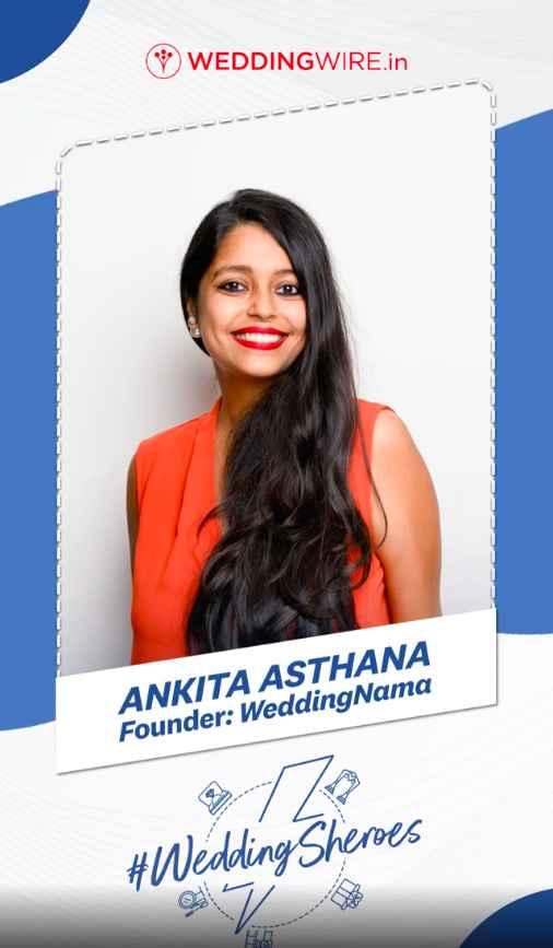 WeddingWire India x Ankita Asthana 😍 📸 - 1