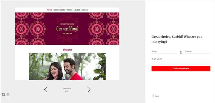 How To Create Your Wedding Website!?!? - 2
