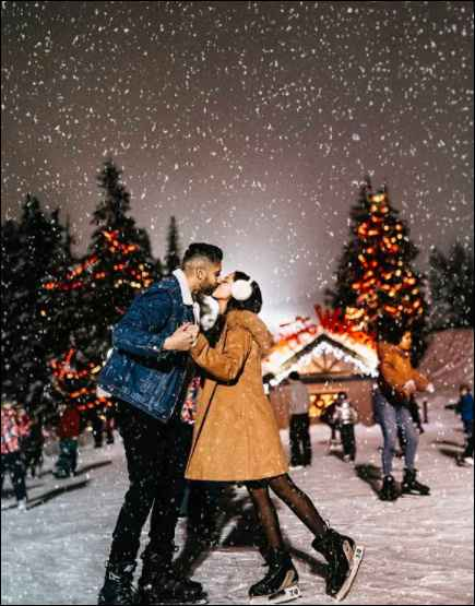 Did You Witness A Good Time With Bae This Christmas? Show Us Your Favourite Xmas Picture! 👫 - 1