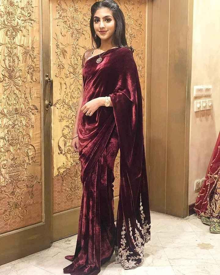 Looking for velvet saree - 1