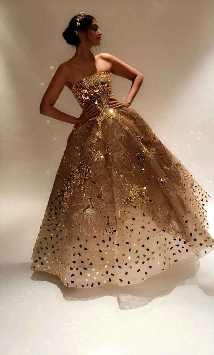Sonam Kapoor's golden gown is a steal - 1