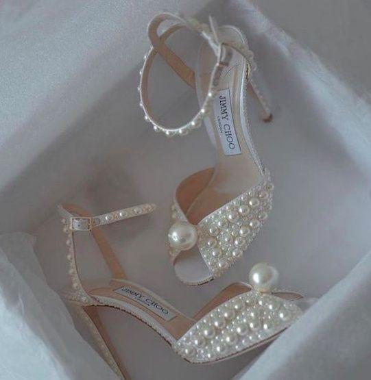 How do you like these wedding heels? - 1