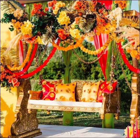 This can be decor for intimate and small weddings - 1
