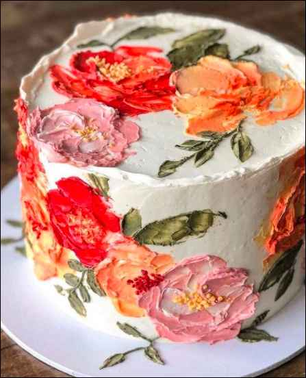 On a scale of 1-10, how much do you like this cake? - 1