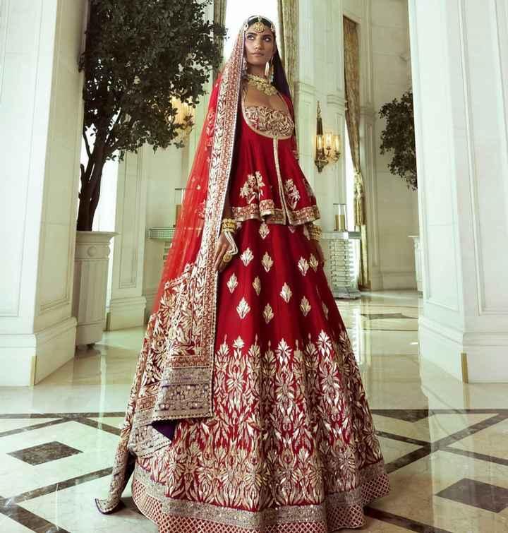 How do you like this wedding lehenga? - 1