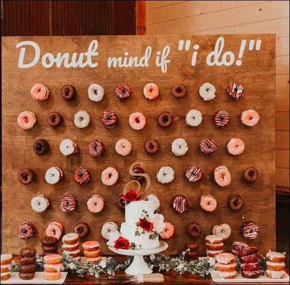 This diy Wedding Idea is making me do-nuts!! - 1