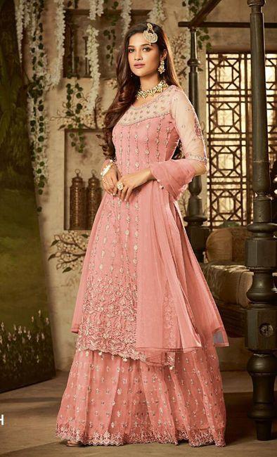 i am lookimg for Pink Sharara Designs! 1
