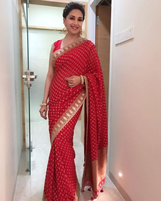 Looking for a red saree - 1