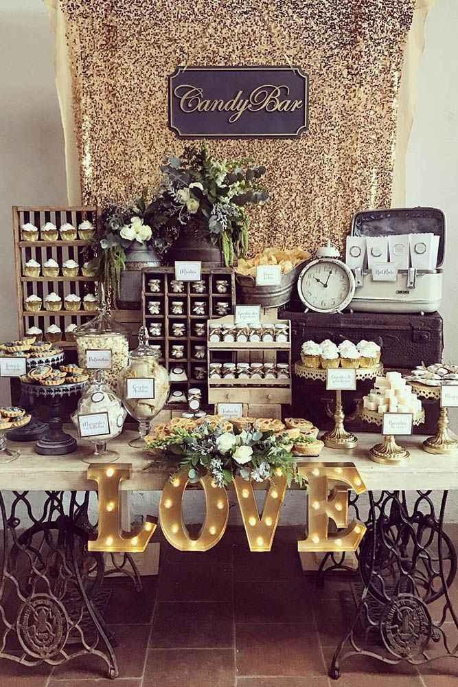 Candy station on the wedding day?yayy!yayy! - 1